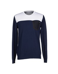 Bikkembergs Sweaters Dark Blue