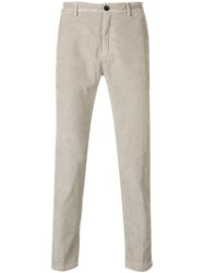 Department 5 Corduroy Skinny Trousers Nude And Neutrals