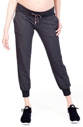 Ingrid And Isabelr Women's Isabel Cozy Fleece Maternity Jogger Pants