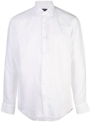 Frescobol Carioca Long Sleeve Fitted Shirt White