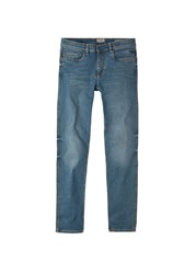Mango Slim Fit Medium Wash Tim Jeans Blue