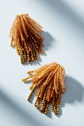 Suzanna Dai Ombre Waterfall Drop Earrings Gold