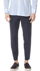 Gant R2 Pleated Slacks Evening Blue