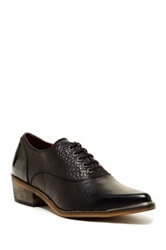 Sixtyseven Carly Leather Oxford Black