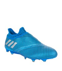 Adidas Messi 16 Pure Agility Firm Ground Boots Male Blue
