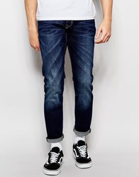 Esprit Mid Wash Jeans In Slim Fit Blue