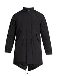 Mt. Rainier Design Mr61325 Thermo Fishtail Overcoat Black