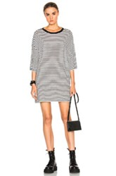 R 13 R13 Oversized Striped Boyfriend T In Stripes