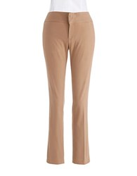 Lord And Taylor Skinny Dress Pants Tawny Brown