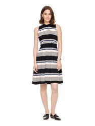 Kate Spade Bay Stripe Tie Back Dress