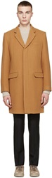 Marc By Marc Jacobs Camel Wool Toby Coat