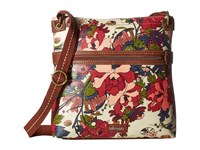 Sakroots Artist Circle Crossbody Cream Flower Power Cross Body Handbags Multi