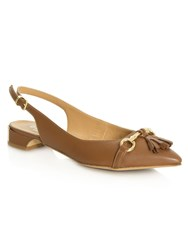 Daniel Magdalena Slingback Pumps Brown