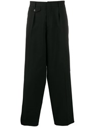 Mcq By Alexander Mcqueen Wide Leg Tailored Trousers Black