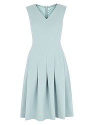 Hobbs Brunswick Dress Frost Blue