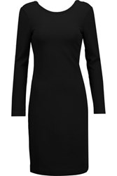 M Missoni Cutout Back Stretch Jersey Dress Black