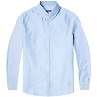 Fred Perry Reissues Heavy Oxford Shirt Sky