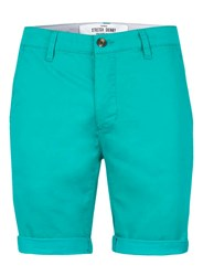 Topman Bright Green Stretch Skinny Chino Shorts