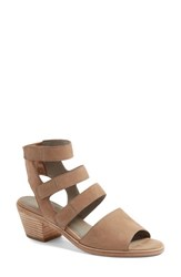 Eileen Fisher Women's Vessey Strappy Sandal Earth Leather
