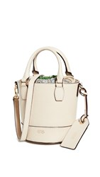 Frances Valentine Small Bucket Bag Oyster