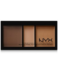 Nyx Cream Highlight And Contour Palette Deep