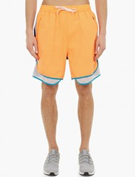 Adidas By Kolor Orange Lightweight Woven Shorts