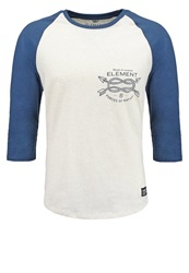 Element Long Sleeved Top Ivory Grey