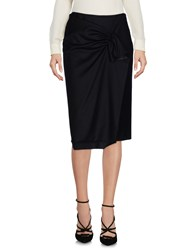Aspesi Knee Length Skirts Black