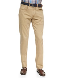 Peter Millar Five Pocket Pants Khaki