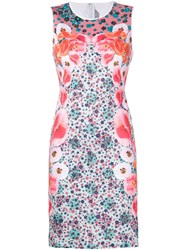 Clover Canyon Printed Stretch Dress Green