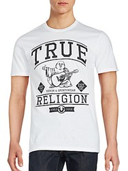True Religion Short Sleeve Graphic T Shirt Ruby Red