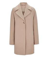 Austin Reed Camel Cocoon Coat