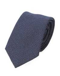 Paul Smith Blue Micro Dots Tie