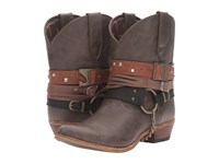 Durango Crush Accessory Bootie Brown Women's Boots