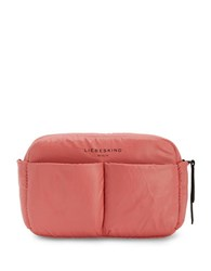 Liebeskind Logo Front Pouch Coral