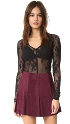 Free People Oh Glove It Layering Top Black