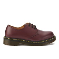 Dr. Martens Originals 1461 3 Eye Smooth Leather Gibson Shoes Cherry Red