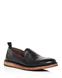 John Varvatos Star Usa Men's Zander Leather Loafers Black