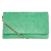 Karen Millen The Brompton Clutch Bag Green