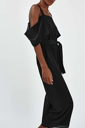 Boutique Off The Shoulder Jumpsuit By Black