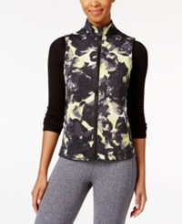 Calvin Klein Performance Printed Vest Icy Yellow Combo