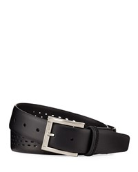 Nike G Flex Perforated Belt Black