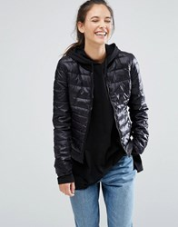 Only Padded Bomber Jacket Black