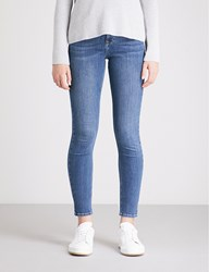 The White Company Symons Skinny Mid Rise Jeans Mid Wash
