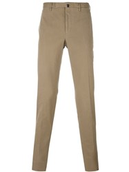 Incotex Slim Fit Chinos Brown