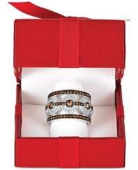 Le Vian Chocolatier Chocolate Deco Estate Diamond Ring 1 1 4 Ct. T.W. In 14K White Gold
