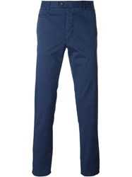 Fay Chino Trousers Blue