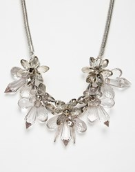 Coast Floral Necklace Grey