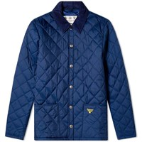 Barbour Starling Quilted Jacket Blue