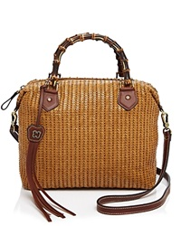 Eric Javits Hilsey Satchel Honey